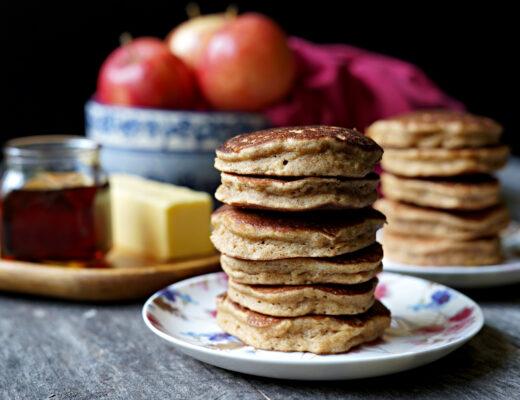 Gluten Free Fresh Apple Pancakes