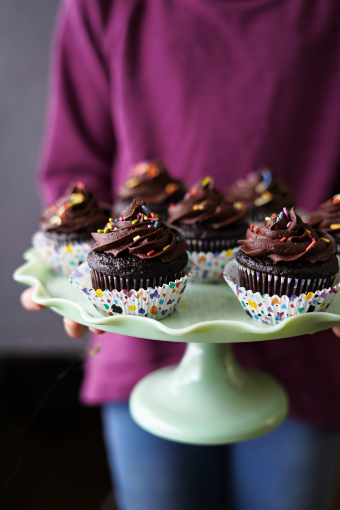 Gluten Free Chocolate Cupcakes For Birthday, Valentine's Day, or any Occasion! :: Gluten Free, Dairy Free, Nut Free!