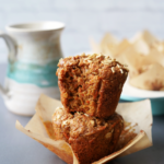 Bakery Style Carrot Oat Muffins :: Gluten Free & Dairy Free