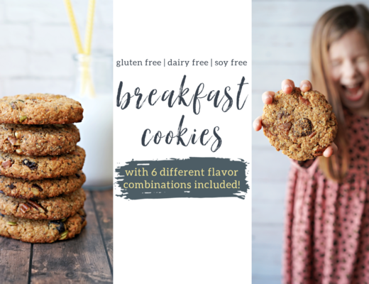 Breakfast Cookies - 6 Ways!