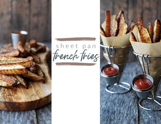 Sheet Pan French Fries