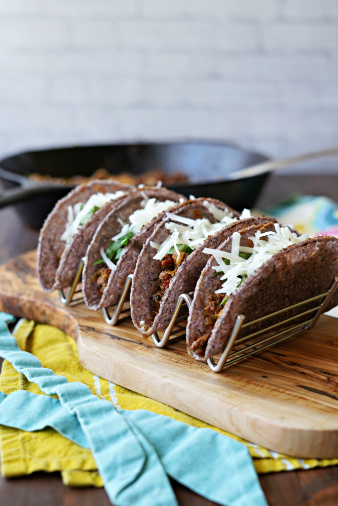 Kid Friendly Veggie Loaded Tacos