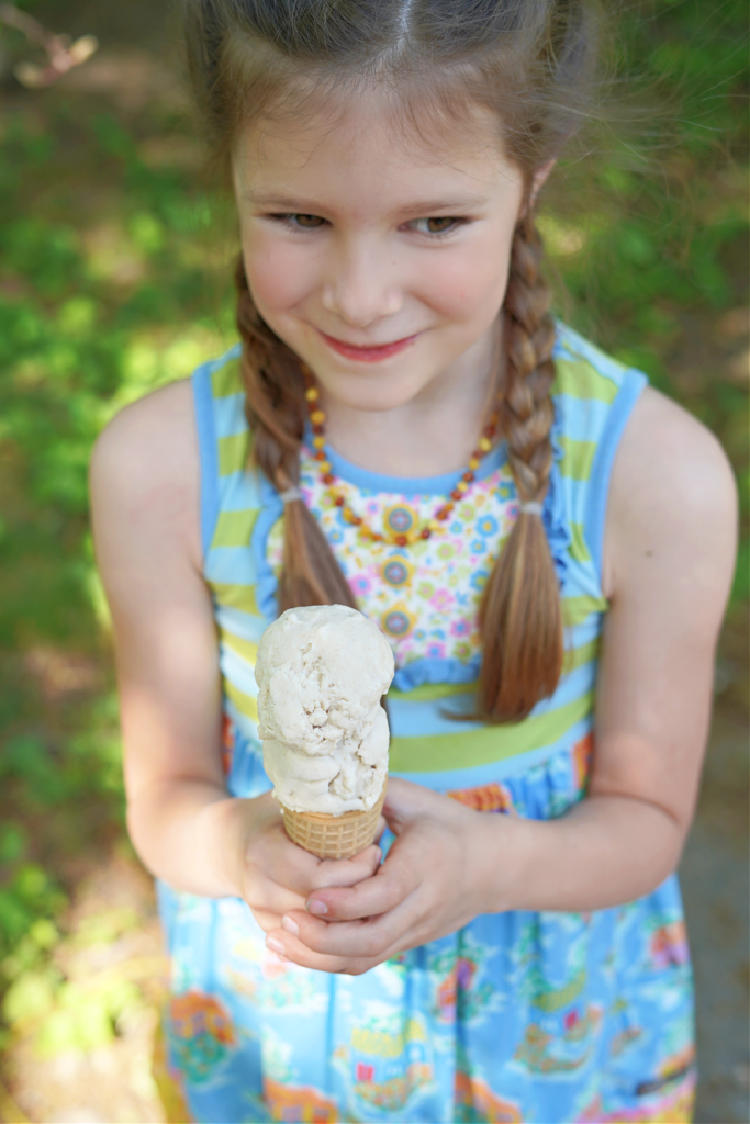Homemade Date Sweetened Ice Cream :: Dairy Free, Egg Free, Gluten Free, Refined Sugar Free
