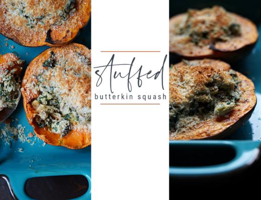 Stuffed Butterkin Squash